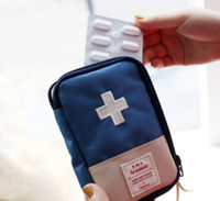 Wholesale Outdoor Camping Home Survival Portable First Aid Kit bag Case Medicine storage bag