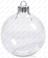 christmas glass ball ornaments - Wedding Bauble Ornaments Christmas Xmas Glass Balls Decoration mm Christmas Balls Clear Glass Wedding balls quot mm Christmas Ornaments
