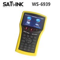 Wholesale Genuine Satlink WS DVB S T Combo Meter Satlink ws6939 meter finder order lt no track