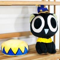big amusement parks - 10 Pieces Dream Castle Cute Cartoon Black Cat Amusement Park Plush Toy Doll Holiday Gift