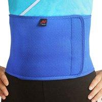 Wholesale Adjustable Slimming Belt Women Men Sports Waist Support Neoprene Safety Comfortable Gym Belt Back Protector