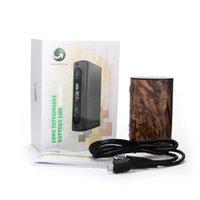 Kit d'alimentation électrique iStick Ipower Mod 5000mAh 510 thread 1-80W TC Mod VW Bypass Mode Smart TC Correspondant Melo 3 100% Original