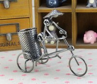 antique pen holders - Handmade Crafts Bikecycle Pen Holder Design Handmade Collectible Size R1768