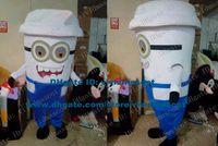 big mug tea - Tricksy White Milk Tea Cup Mug Tumblerful Glass Mascot Costume Cartoon Character Mascotte Adult Big Teeth NO