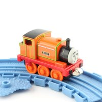 diecast models - Children thomas and friends trains BILLY head magnetic train Diecast pista alloy metal models train mini collection toys orange USA SELLER