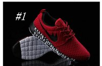 elastic band for shoes - Roshe Run Running Shoes For Women Men Red Black High Quality Sneakers Walking Outdoor Shoes Breathable Lightweight Jogging Shoe