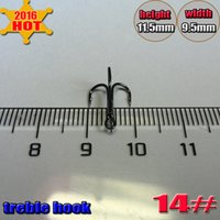 ice fishing - 2016 New Arrival round treble hooks quantily Specialty hooks