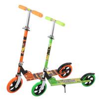 Wholesale Popular Children Scooters Height Adjustable Rolling Kids Foot Scooter Folding Wheels Kick Scooter Aluminum Alloy Kickboard VE0114