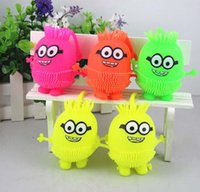 Wholesale 2016 vacuum toy minion vent ball novelty gift soft robot action figure toy doll relaxed compressional stress relief
