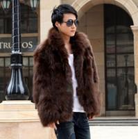 Wholesale Winter Men s Fashion Fur Coat