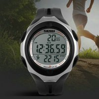 Wholesale Clearance unisex simple d pedometer health sports Digital LED Electronics waterproof Children Boy Girl Student Wristwatches