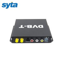 Wholesale SYTA Car DVB T Receiver Car Mobile DVB T BOX Double Antenna DVB T Car Mobile Digital TV Receiver With PVR USB HDMI For Europe Market