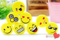 Wholesale pencil eraser funny erasers for kids different facial expression