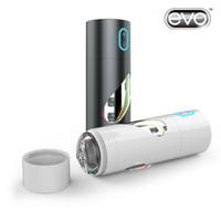 Cheap 2015 New EVO X12 USB Rechargeable Electric Male Masturbator Cup Automatic Sex Machine Male Masturbation sex Toys