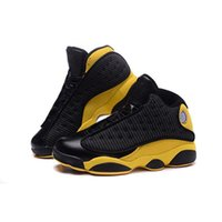 anthony b - Cheap Air Retro Carmelo Anthony Golden Nuggets PE Black Yellow Basketball Shoes Men Athletics Sneaker Boots With Original Box