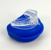 Wholesale Stop Snoring Mouthpiece Anti Snore Apnea Stopper Night Sleep Aid Solution Snoring men women care good sleep Christmas Goods
