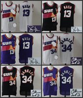 Wholesale A High Quality new arrival Phoenix Charles Barkley Steve Nash signature jersey for mens