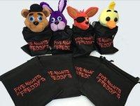 Wholesale DHL Free New FNAF bags five nights at freddy s toys bag Storage bag five nights at freddy bag