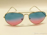 aviator logo - Fashion retro colorful logo sunglasses men vintage gradient polarized oculos lentes de sol aviator