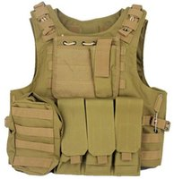 Wholesale Fall Military Vest Assault Airsoft SAPI Plate carrier Multicam Army Molle Mag Ammo Chest Rig Paintball Body Armor Harness