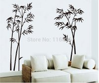 bamboo growth - High Quality new decorative bamboo wall stickers for home room decoration mural Decal DIY removable Sticker