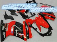 advanced kawasaki - Advanced Motorcycle Fairing kit for Ninja ZX250R ZX R ZX R EX250 Red Fairing parts