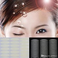 Wholesale 10pcs Breathable Invisible Women Double Eyelid Tape Sticker Beautiful Eyes Reflective Stickers Drop Shipping MU