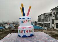 amazing birthday cake - Amazing Beautiful Giant Inflatable Cake for Birthday Party Decorations Happy Birthday To U