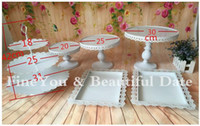 Wholesale Express FreeShipping White wedding cake stand set pieces cupcake stand barware decorating cooking cake tools bakeware set party dinnerware