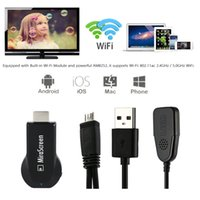Wholesale MiraScreen OTA TV Stick Dongle Better Than EasyCast Wi Fi Display Receiver DLNA Airplay Miracast Airmirroring