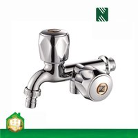 Wholesale ABS Plastic Faucet Single Cold Water Wall Tap Multifunctional Washing Machine with Double Plating Nozzle Sale Decorative Garden