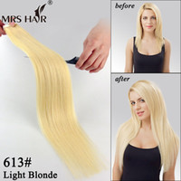 remy tape hair extensions wholesale - 613 Tape Weft Human Hair Extensions Light Blonde Colorful Hair Extensions Skin Weft Adhesive Tape In Hair Best Sell inch inches