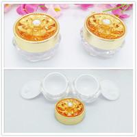 Wholesale PMMA cream use g jar cosmetics cream empty jar elegant Ml cosmetic jars diamond cream jar packing container