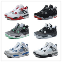 army online - Retro Basketball Shoes Men Cheap J4 IV Boots Authentic Online For Sale Sneakers Mens Sport Shoes Size