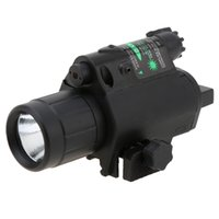 Wholesale New Hunting Optics Full Metal Tactical LED Light Green Laser Sighting with Mode Tail Switch
