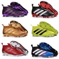 ace high printing - High Quality Ace purecontrol soccer boots Pure Control Football Shoes Soccer Cleats Boots Cheap Kids Football Shoes
