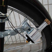 bicycle lights dynamo - Bicycle Lights Set Kit Safety Cycling Front Headlight Taillight Rear Light Set Bicycle Dynamo Lights No Batteries Needed