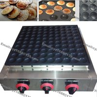 Wholesale Heavy Duty Non Stick LPG Gas Poffertje Grill Mini Dutch Pancake Machine Baker Maker