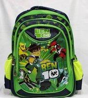 Wholesale 50cs Newest Arrival Ben Character School Bag Cartoon Kids Backpack Students Rucksack G294