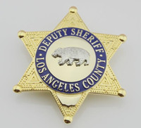 antique bear - Losangeles County United States Deputy Sheriff Bear Badge Replica Police Cop Metal Badge High Quality Ladp Losangeles County Metal Bagdes