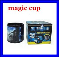 Wholesale New Doctor Who Disappearing tardis police box Heat Changing Coffee mug Magic Cup years of adventures Mug Dr Mysterious hight quality free