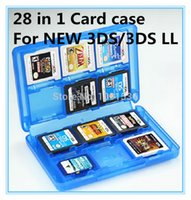 Wholesale Plastic in1 TF SD MS CF Memory Card Holder Protector Cases For Nintendo DS DSLL