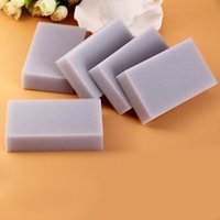 Wholesale Magic Gray Nano Sponge Eraser Bowl Car Cleaner Multi functional Dishes Cleaning Cloth Dishcloth Kitchen Helper