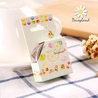 Wholesale yuan daisyland and tape Macarons cartoon decoration diary album paper hand hand