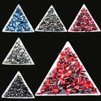 bags droplets - Hotfix rhiestone bag mm mm Water droplets shape color glass Crystal rhinestone FlatBack Rhinestone Garment Accessories