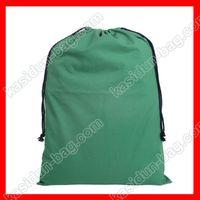 Wholesale size x70cm large cotton canvas drawstring bag blank