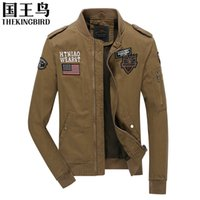 army airborne clothing - Men s Jacket Autumn And Winter Bomber Jacket Men MA1 Army Air Force Pilot Tactical Military Airborne Flight Men s clothing