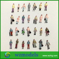 architecture people - 200pcs High quality Architecture Model Figure Painted Miniature Model People Figure for sale