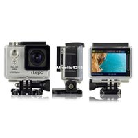 Wholesale SJ5000 Plus WiFi Action Camera Novatek MP CMOS Full HD P quot LCD Diving M Waterproof Degree View Angle