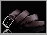 Wholesale 2016 original designer letter l buckle belts men high quality mens belts luxury men designer leather belt v free epacket shipping